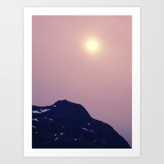 Antarctic Sun Art Print