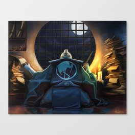 Court Scribe Canvas Print
