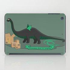 Dinosaur cosplay iPad Case