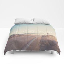 lets get lost together ...  Comforters
