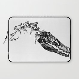 Jurassic Bloom - The Clever Girl Laptop Sleeve