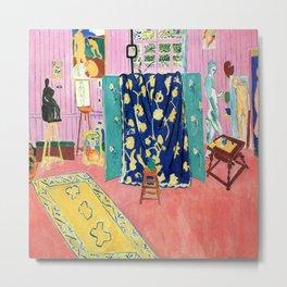 Henri Matisse The Pink Studio Metal Print