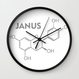 Janus Molecule Wall Clock