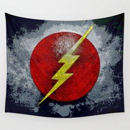 flash logo Wall Tapestry