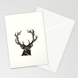 Animal Illustration Series: Pronged Deer Stationery Cards