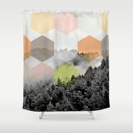 Explained Dimensionality V2 #society6 Shower Curtain
