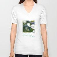 wonder V-neck T-shirts featuring Wonder by Janice Sullivan