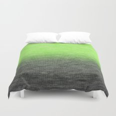 Ombre Lime Duvet Cover