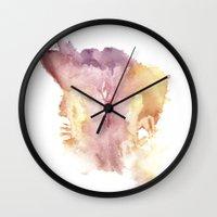 vagina Wall Clocks featuring Verronica's Vagina Print by Nipples of Venus