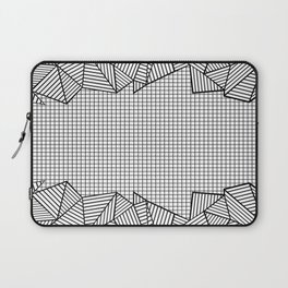 Grids and Stripes Laptop Sleeve