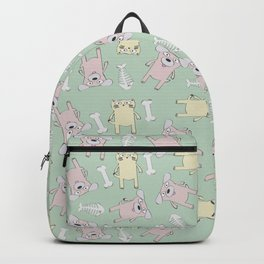 Raining Cats and Dogs Backpack