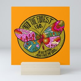 Into the Forest Mini Art Print