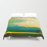 storm Duvet Covers featuring Storm by Neelie