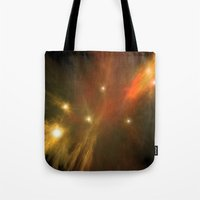 constellation Tote Bags featuring Constellation by GothicToggs