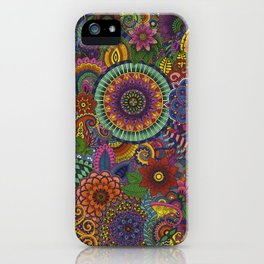 Mandal Jungle I. iPhone Case