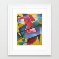ruben Framed Art Prints featuring Ruben 1 by  Alexandra's Collection