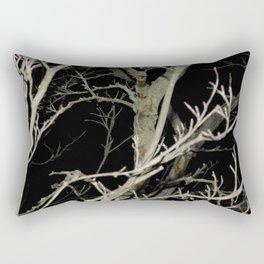 Dreary Darkness Rectangular Pillow