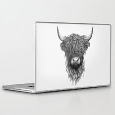 Highland Cattle Laptop & iPad Skin