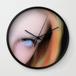 The Left Look Wall Clock