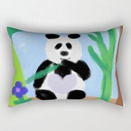It's a Panda's World of Love 3 Rectangular Pillow