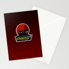 The Adventures of Bat man and Rob Zombie Stationery Cards