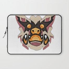 Sticker Bat furious beggar perched sick cave hollowed Laptop Sleeve