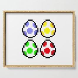 Minimalist Yoshi Eggs Serving Tray