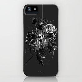 until debt tear us apart iPhone Case