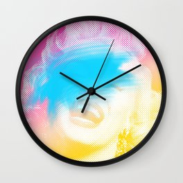 Star Shines Wall Clock