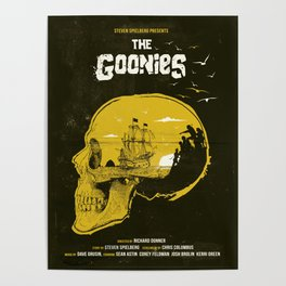 The Goonies art movie inspired Poster