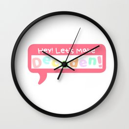 How To: Make Decoden Wall Clock