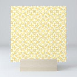 HELLO YELLOW - ANISSA DIAMOND by MS Mini Art Print