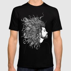 A Sight to Behold MEDIUM Mens Fitted Tee Black