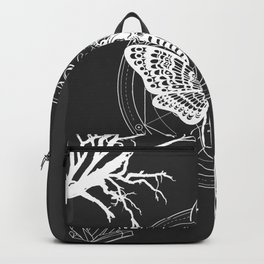 Witch Craft White Backpack