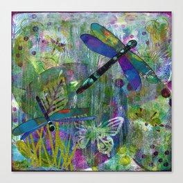 Dragonfly Dance Canvas Print