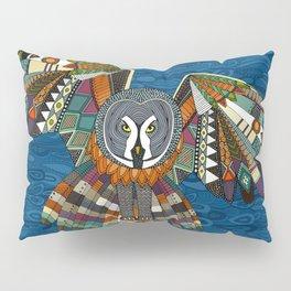 night owl blue Pillow Sham
