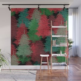 Christmas Tree Folly Wall Mural