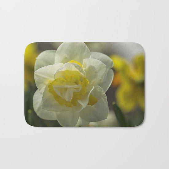 Daffodil sunshine Bath Mat