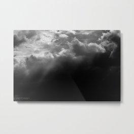 FADED SKY Metal Print