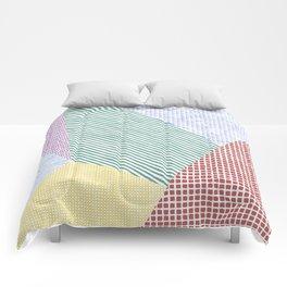 Chalk Patterns Comforters