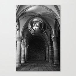 Silent Moment at Mont Saint-Michel Canvas Print
