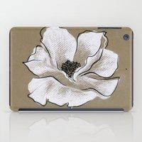 poppy iPad Cases featuring Poppy by Mich Li