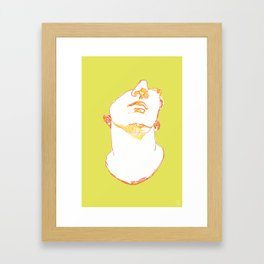 CONTOUR Framed Art Print