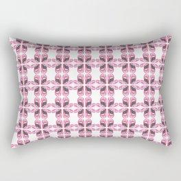 Pink Lips Gasp Rectangular Pillow