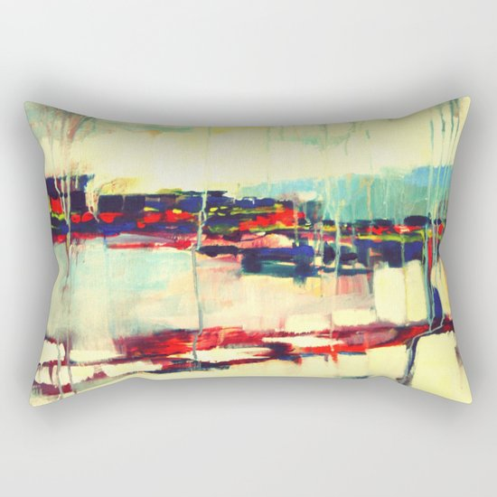 Warsaw III - abstraction Rectangular Pillow