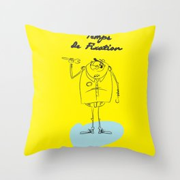 "The Ink - ""Fix"" Throw Pillow"