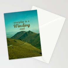 Everyday Is A Winding Road Stationery Cards