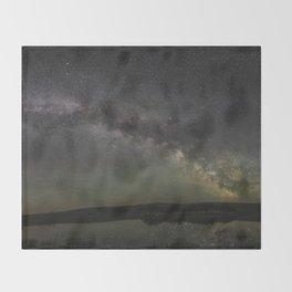 Milky Way Reflection Throw Blanket
