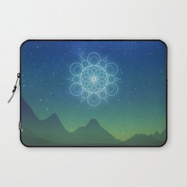 Sacred Geometry (Cosmic Connection) Laptop Sleeve