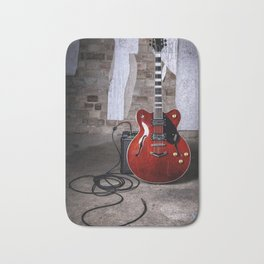 Guitar Hero Bath Mat